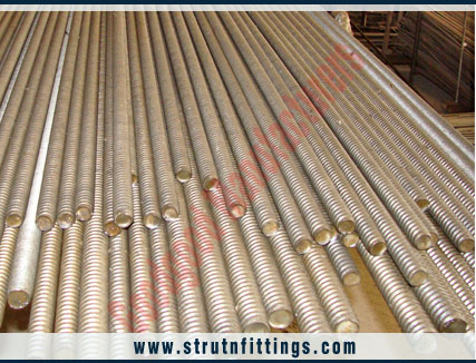 threaded coil rods - thread coil bars - fully threaded formwork construction coil rods - studs bars  manufacturers exporters in india punjab ludhiana